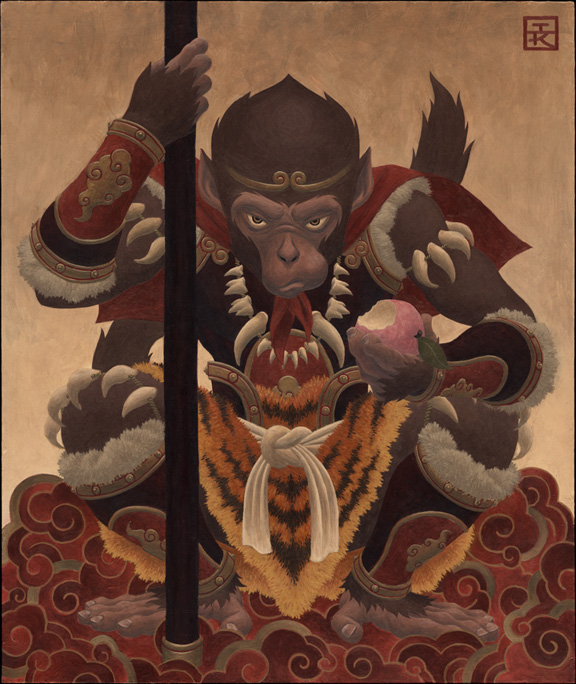 Monkey King Cartoon http://www.kkuodesign.com/2009/02/18/