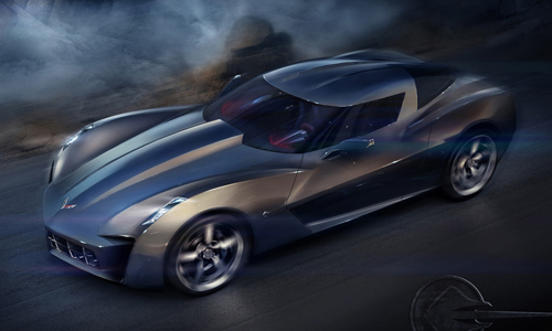 design with the 50th Anniversary Chevrolet Corvette Stingray Concept.