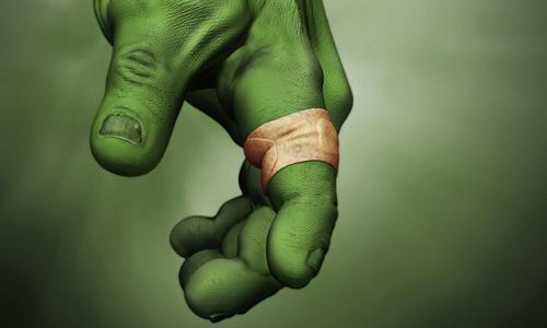 hulk band aid
