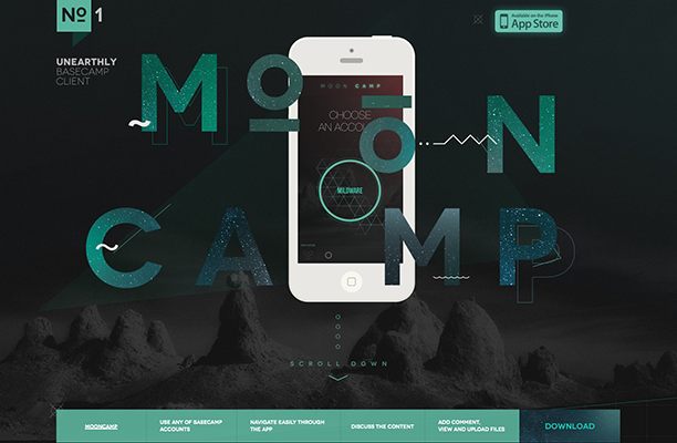 40 Web Designs with Beautiful Creative Typography