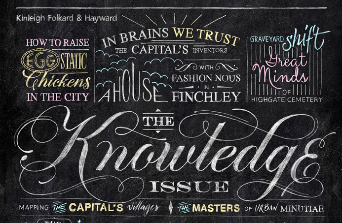12 inspirational hand-lettering projects